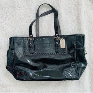 Coach Gallery Patent Tote